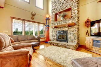 Make Your Home Cozy with a Stone Fireplace in Chantilly