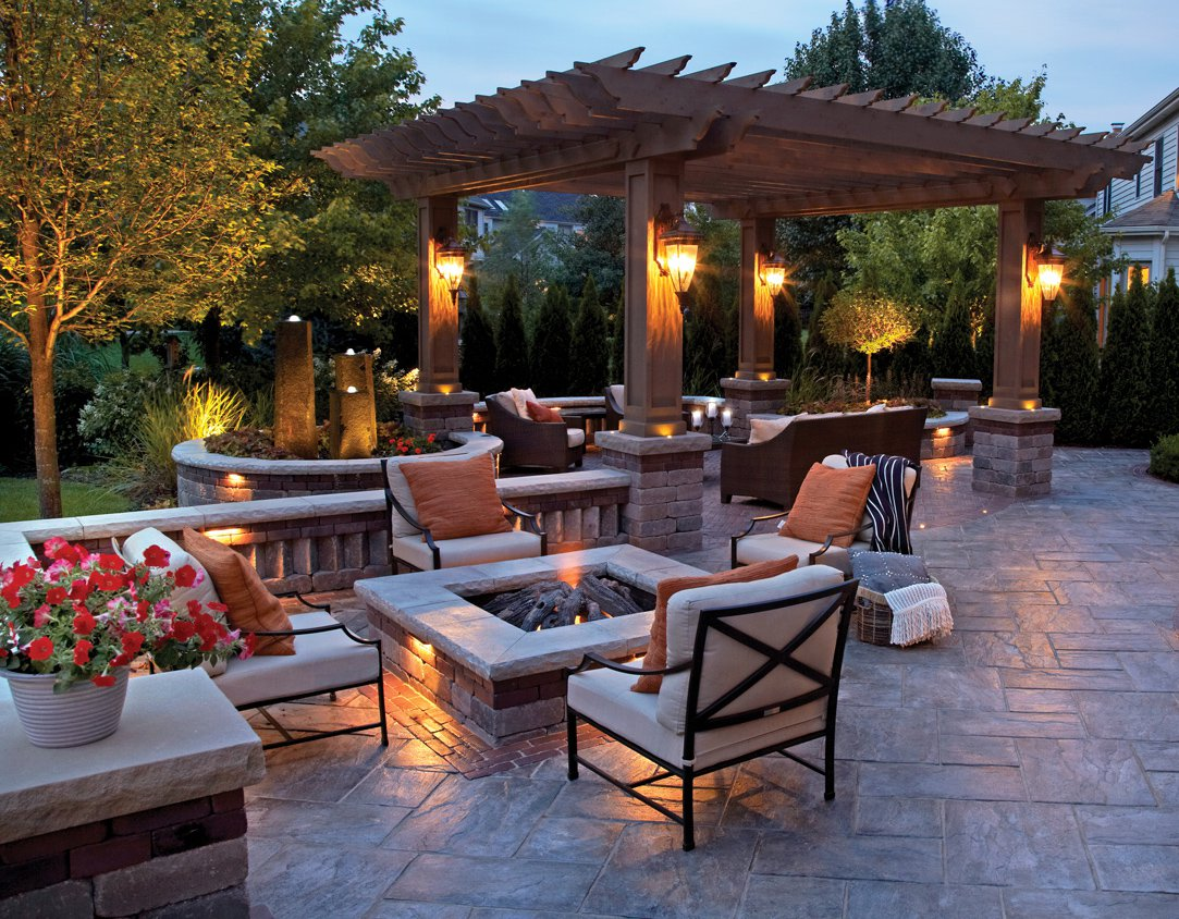 Outdoor Fire Pits Northern Virginia Fireplaces Home Living