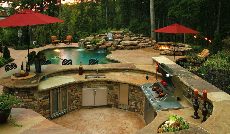 Custom Built Outdoor Kitchens Bbq Islands Visit Our Showroom